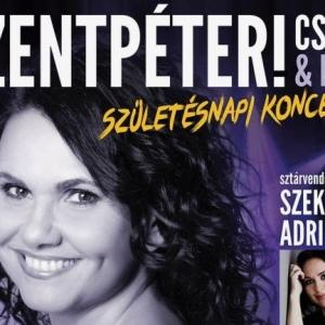 Szentpéteri Csilla & Band születésnapi koncert a Körösi Csomában - Jegyek itt!