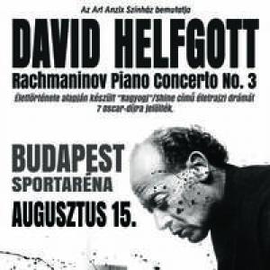 David Helfgott Rahmanyinov zongoraverseny koncertje 2018-ban az Arénában - Jegyek itt!