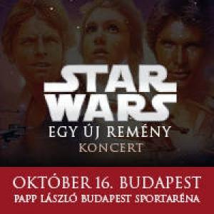 Egy új remény - Star Wars filmzenei koncert show Budapesten az Arénában - Jegyek a 2018-as koncertre