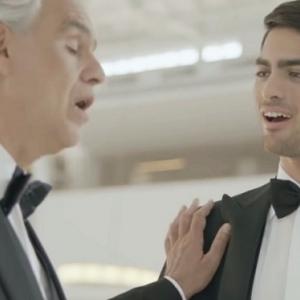 Andrea Bocelli és fia Matteo Bocelli duettje a Fall on me - VIDEÓ ITT!