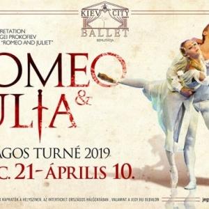 A Kiev City Balett Rómeó és Júlia előadása Veszprémben! Jegyek és jegyvásárlás itt!